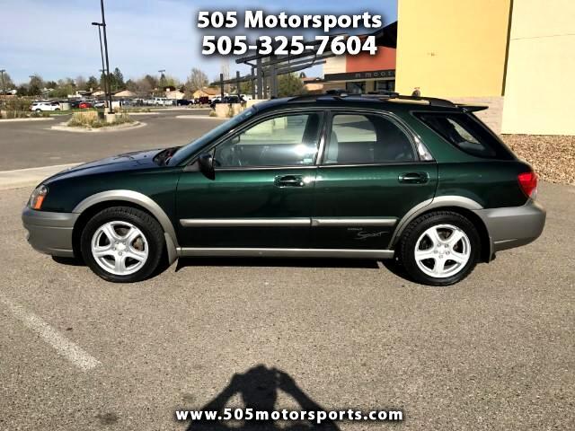 2004 Subaru Outback Sport