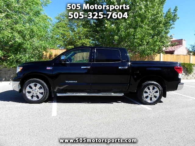 2012 Toyota Tundra Limited 5.7L FFV CrewMax 4WD