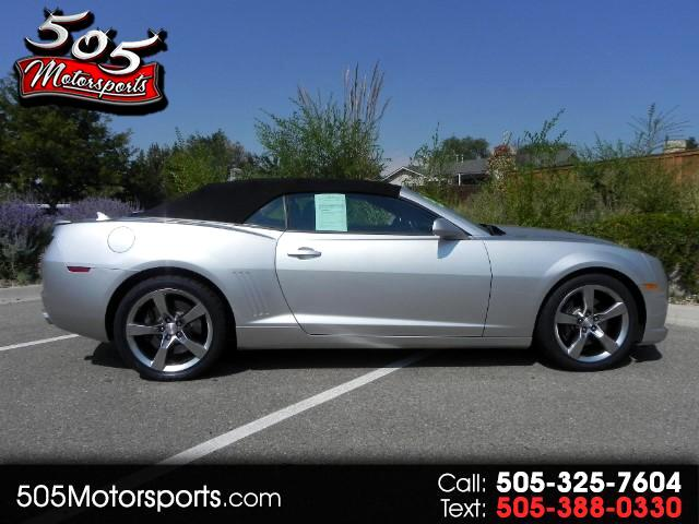 2011 Chevrolet Camaro Convertible 2SS Supercharged Lingenfelter Edition