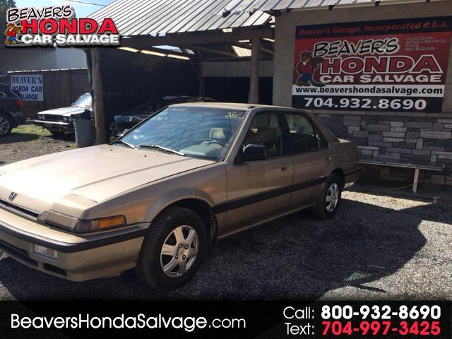 1988 Honda Accord Sdn 4dr I4 Auto LX