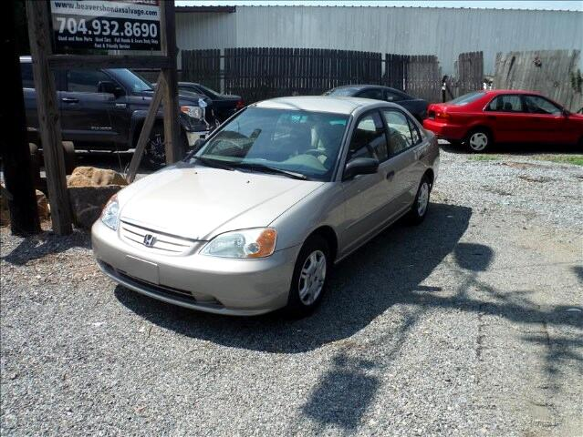 used 2001 honda civic lx sedan for sale in mooresville nc. Black Bedroom Furniture Sets. Home Design Ideas