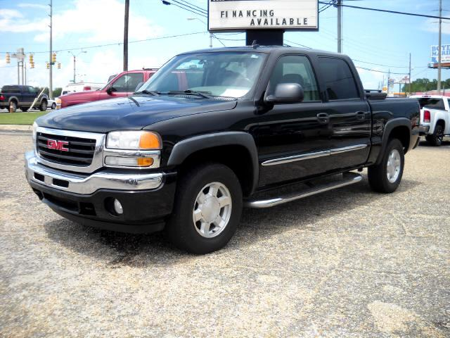 used 2006 gmc sierra 1500 slt crew cab 4wd for sale in dothan al 36303 dothan truck and auto. Black Bedroom Furniture Sets. Home Design Ideas