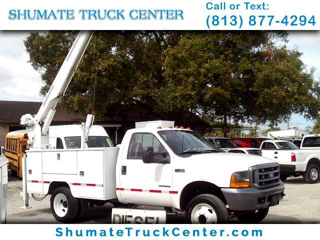 2000 Ford F-450 6,000 lb. Crane Truck