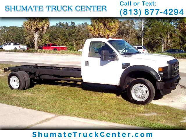 2008 Ford F-550 cab / chassis 201'' W.B.