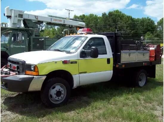 1999 Ford F-450 Fire Truck  Diesel 4WD