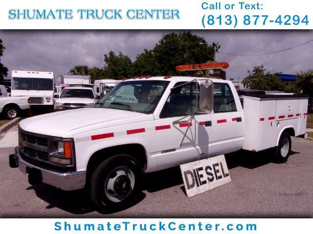 1999 Chevrolet Silverado 3500 Crew Cab Diesel Utility