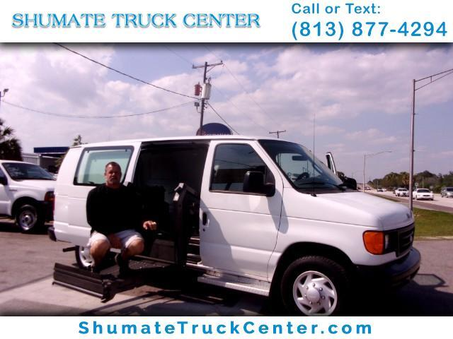 2007 Ford E-150 Disability Equipped + Hand Controls