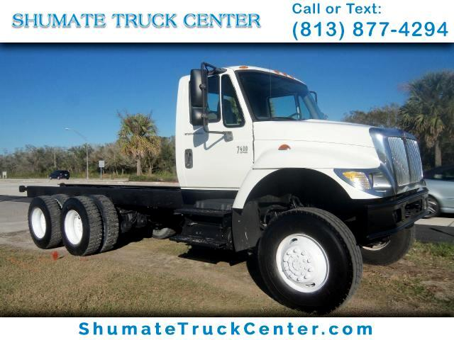 2006 International 7400 6x6 cab n chassis