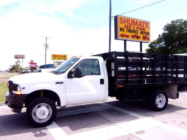 2003 Ford F-450 12ft flatbed liftgate