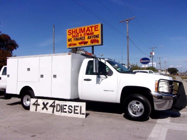 2007 Chevrolet Silverado 3500HD 4X4 Utility Diesel