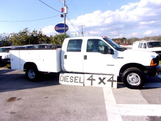1999 Ford F-350 Crew Cab 4x4 7.3 Diesel