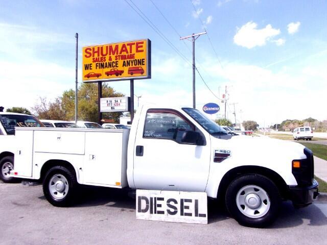2008 Ford F-350 Diesel Utility Truck