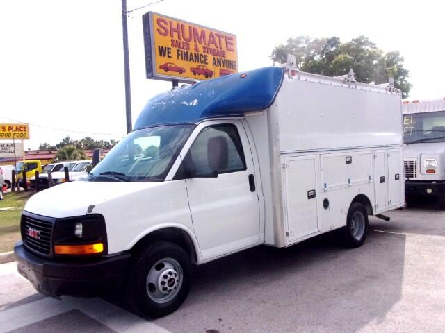 2005 Chevrolet Express Cutaway 14' Enclosed Utility Body