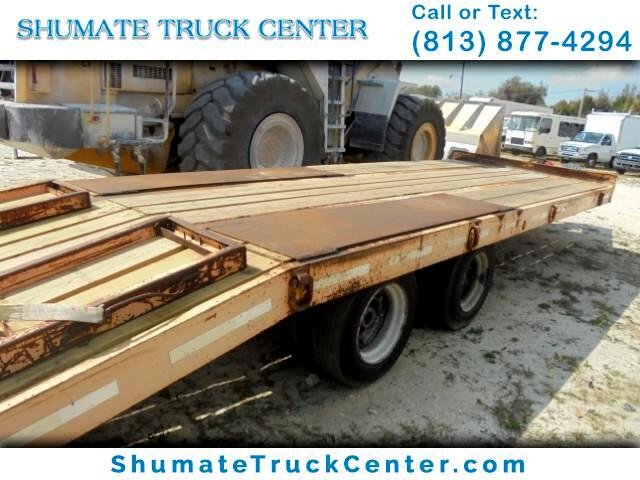 2001 Trailer Equipment Hauler 20 FT Tandem Axle