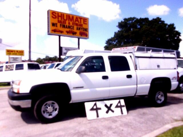 2007 Chevrolet Silverado 2500HD 4x4 crewcab
