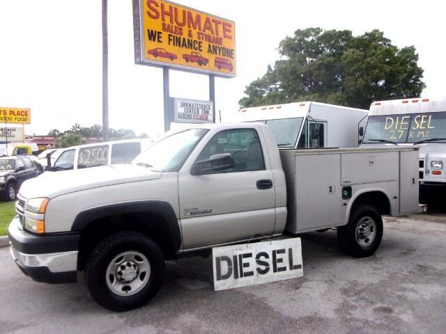 2007 Chevrolet Silverado 2500HD Reg. Cab 2WD