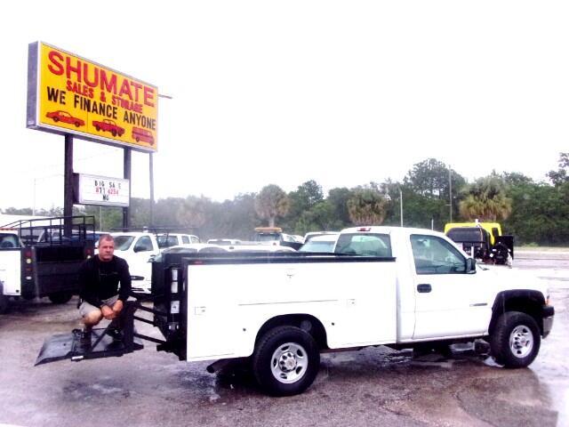 2002 Chevrolet Silverado 2500HD Utility bed Lift Gate