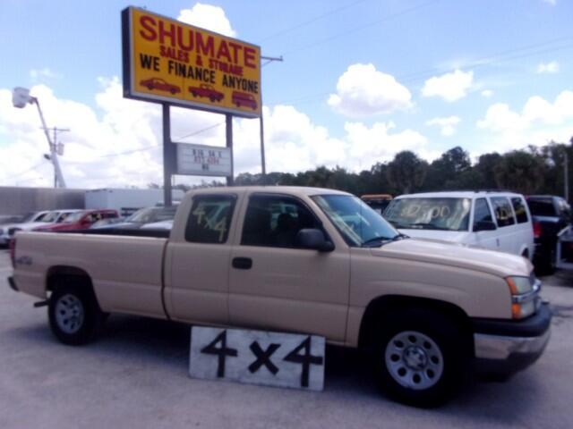 2005 Chevrolet Silverado 1500 Quadcab 4x4 Long Bed