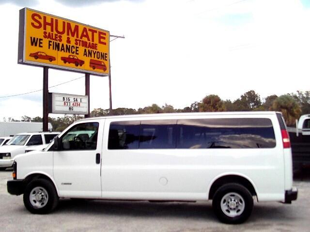 2003 Chevrolet Express Extended 12 - 15 passenger van