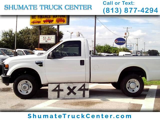 2008 Ford F-250 4x4 Reg Cab 8 FT. Bed