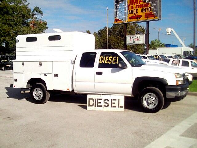 2006 Chevrolet Silverado 2500HD Quadcab Utility Diesel