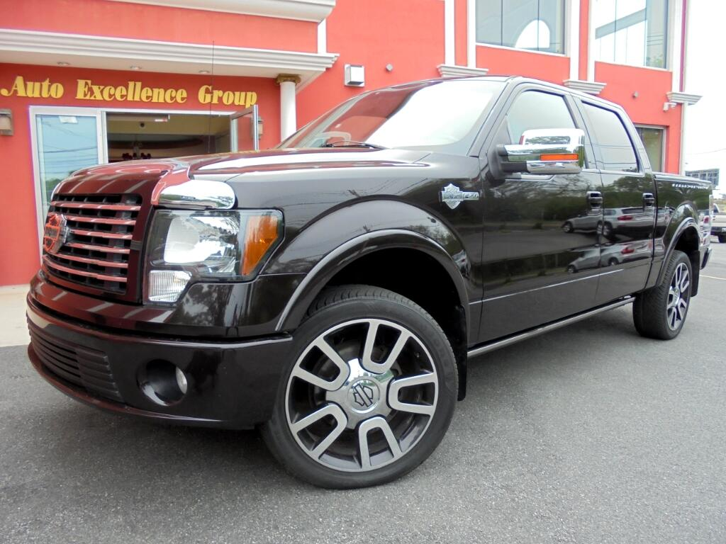 2010 Ford F-150 Harley-Davidson SuperCrew 5.5-ft. Bed 4WD