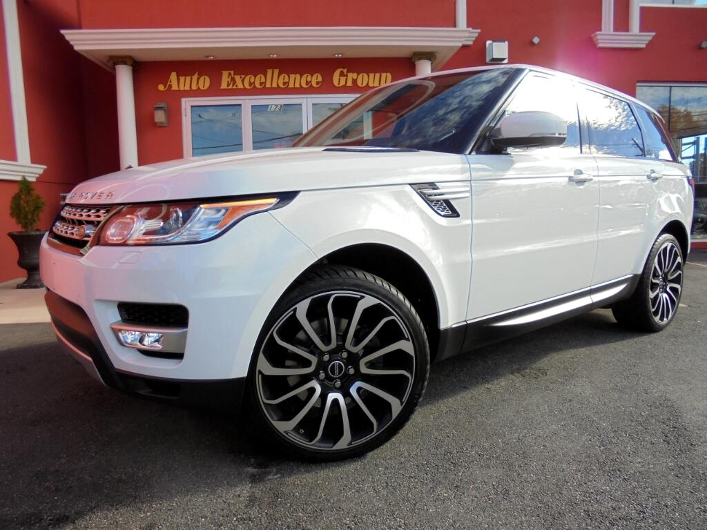 used 2014 land rover range rover sport 3 0l v6 supercharged hse for sale in boston ma 01906 auto. Black Bedroom Furniture Sets. Home Design Ideas