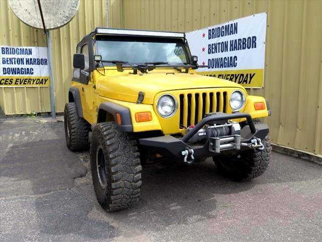 2002 Jeep Wrangler X