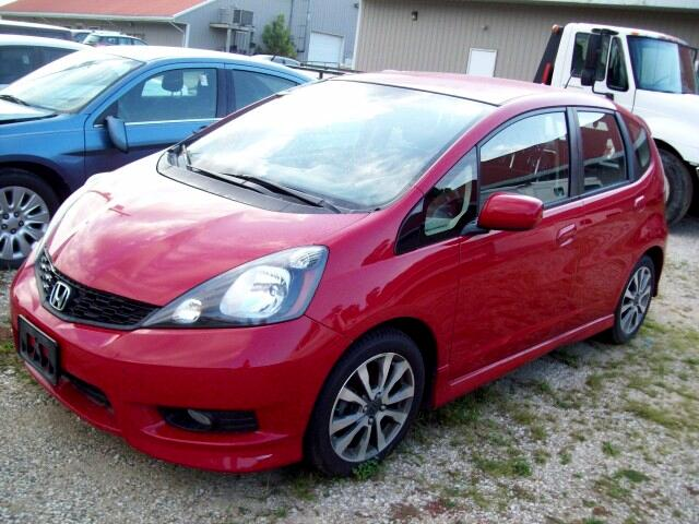 2012 Honda Fit Sport 5-Speed AT with Navigation