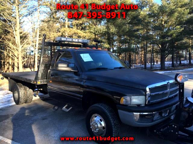 2001 Dodge Ram 3500 Turbo Diesel with Snow Plow
