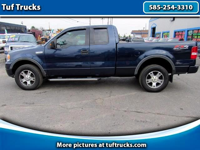 used 2004 ford f 150 fx4 supercab 4wd for sale in rochester ny 14624 tuf trucks. Black Bedroom Furniture Sets. Home Design Ideas