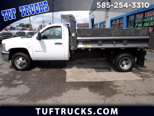 2010 Chevrolet Silverado 3500HD Work Truck Dual Rear wheel 4WD Dump Truck