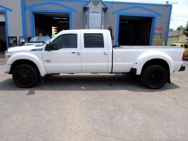 2014 Ford F-450 SD Platinum Crew Cab Dually Diesel 4WD