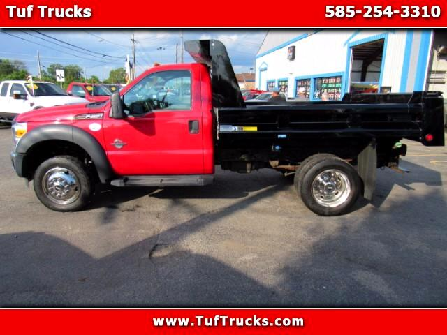 2012 Ford F-450 SD Regular Cab Dump Truck Diesel