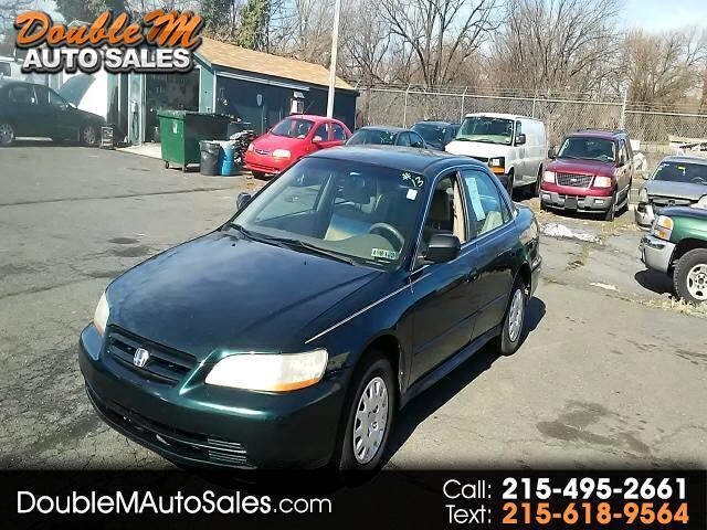 2001 Honda Accord Value Package Sedan