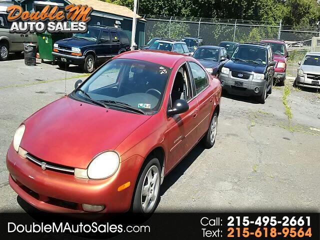 2000 Dodge Neon Sedan