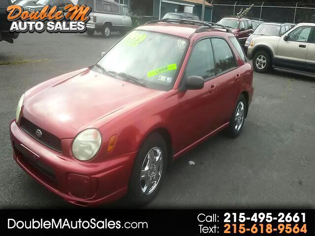 2002 Subaru Impreza Wagon 2.5 TS