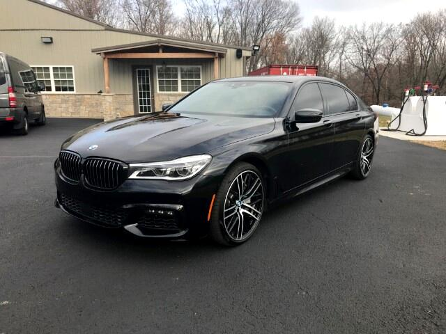 2017 BMW 7-Series 750i xDrive with Remote Control Parking and M Spor