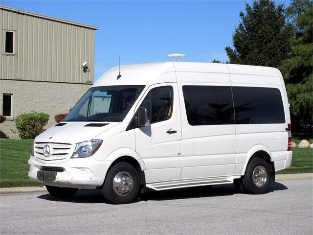 2014 Mercedes-Benz Sprinter 3500 High Roof 144-in. WB Executive Van