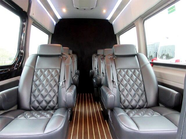2015 Mercedes-Benz Sprinter Luxury 8 Passenger Golf Cruiser