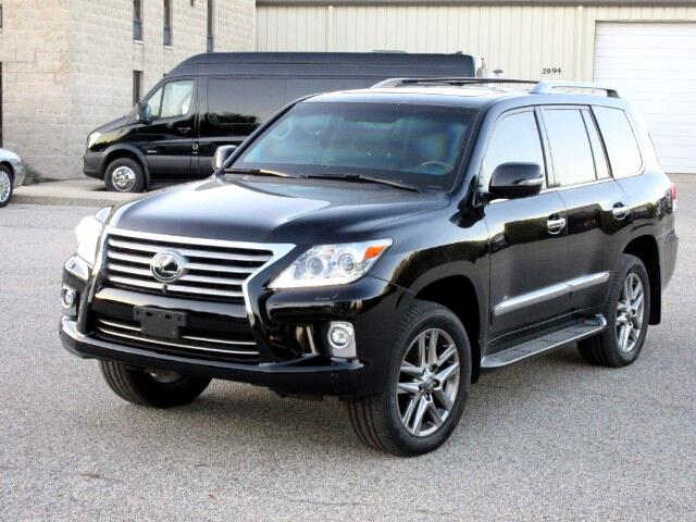 2014 Lexus LX 570 B6 Armored Bullet Proof