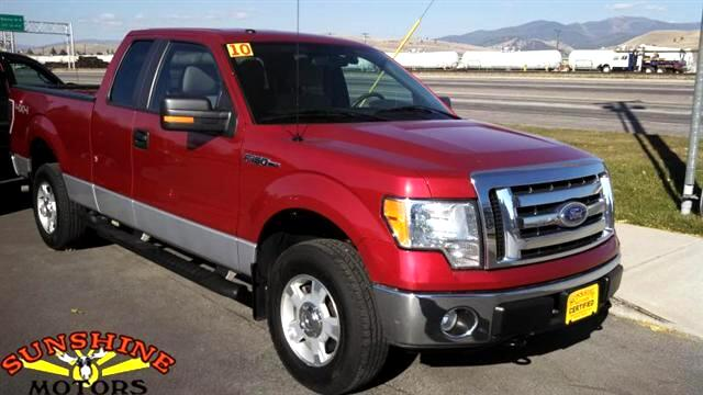 2010 Ford F150 SUPERCAB XLT