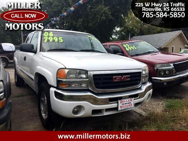 2006 GMC Sierra 1500 SLE Ext. Cab Short Bed 4WD