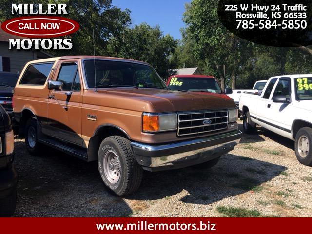 1990 Ford Bronco Eddie Bauer
