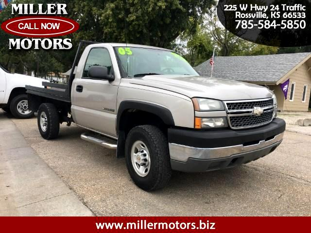 2005 Chevrolet Silverado 2500HD Work Truck Long Bed 4WD