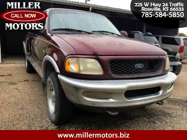 1997 Ford F-150 SuperCab Flareside Short Bed 4WD