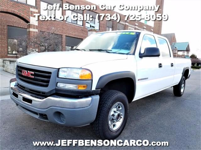2006 GMC Sierra 2500HD Crew Cab Long Bed 4WD