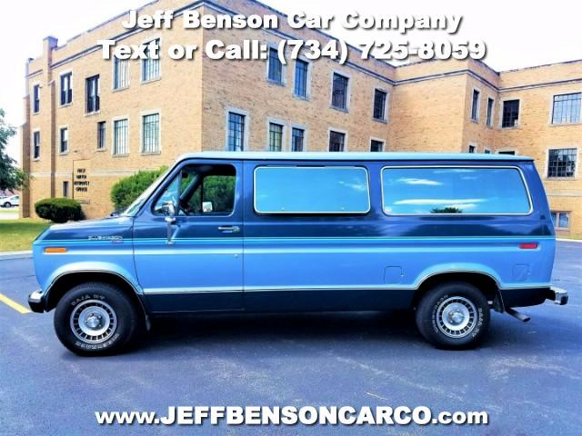 1987 Ford Club Wagon E150