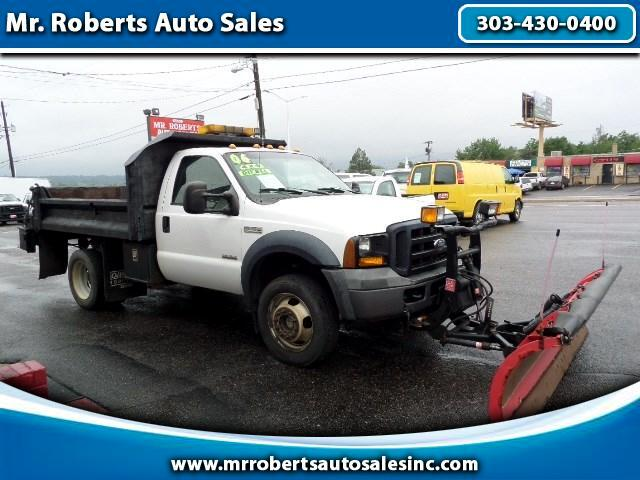 2006 Ford F-550 Regular Cab 4WD DRW