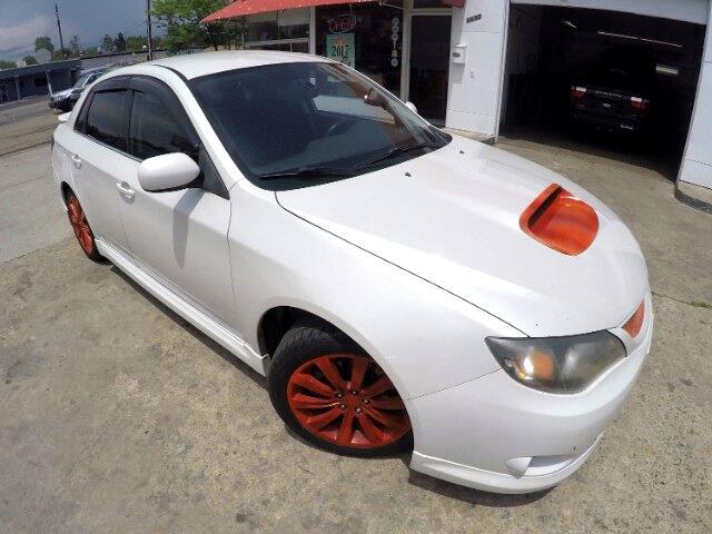 2008 Subaru Impreza WRX TR